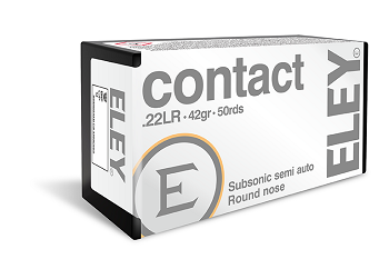 Патрон 22 LR CONTACT (ELEY) 02300
